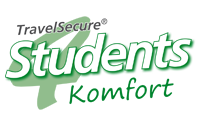 TravelSecure4Students Komfort Tarif
