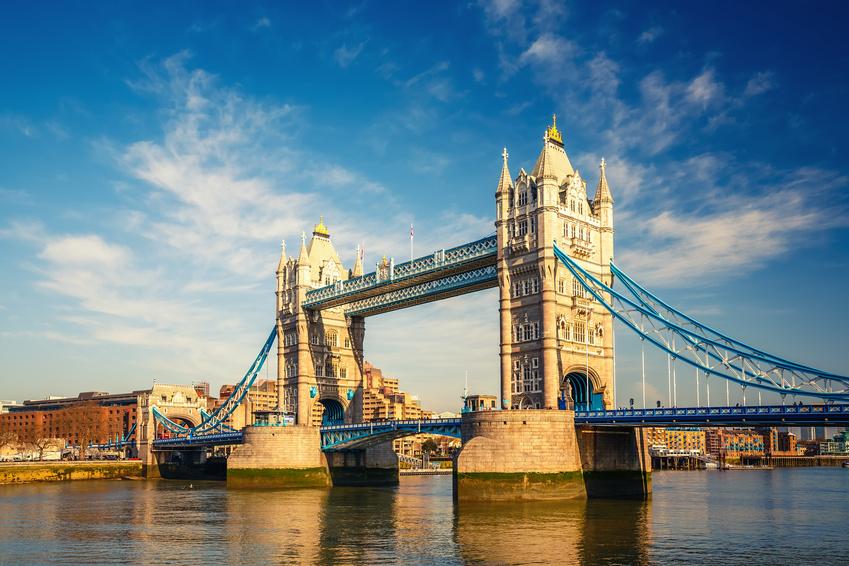 Die berühmte Tower Bridge